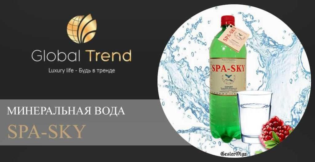Минеральная вода SPA-SKY - Global Trend Company